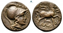 Thessaly. Thessalian League circa 120-50 BC. Bronze Æ