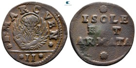Italy. Venezia (Venice).  after AD 1686. Coinage for the Ionian Islands and the Armed Forces. Gazetta CU