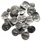 Lot of ca. 21 greek silver fractions / SOLD AS SEEN, NO RETURN! very fine