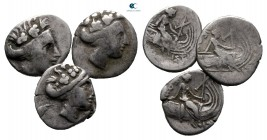 Lot of ca. 3 greek silver tetrobols / SOLD AS SEEN, NO RETURN!nearly very fine