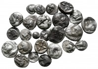 Lot of ca. 25 greek silver fractions / SOLD AS SEEN, NO RETURN!very fine