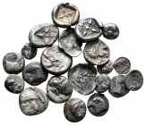 Lot of ca. 21 greek silver fractions / SOLD AS SEEN, NO RETURN!very fine