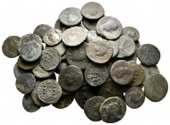 Lot of ca. 62 roman provincial bronze coins / SOLD AS SEEN, NO RETURN!nearly very fine