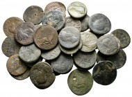 Lot of ca. 37 roman provincial bronze coins / SOLD AS SEEN, NO RETURN!fine
