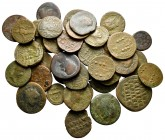 Lot of ca. 38 roman provincial bronze coins / SOLD AS SEEN, NO RETURN!fine