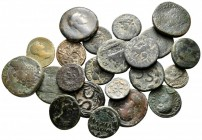 Lot of ca. 22 roman provincial bronze coins / SOLD AS SEEN, NO RETURN! nearly very fine