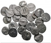 Lot of ca. 26 roman denari / SOLD AS SEEN, NO RETURN! very fine