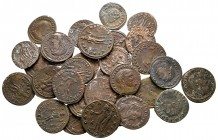 Lot of ca. 30 roman bronze coins / SOLD AS SEEN, NO RETURN!nearly very fine