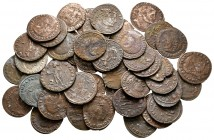 Lot of ca. 36 roman bronze coins / SOLD AS SEEN, NO RETURN!nearly very fine