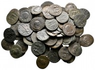 Lot of ca. 70 roman bronze coins / SOLD AS SEEN, NO RETURN!very fine