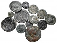 Lot of ca. 13 ancient bronze coins / SOLD AS SEEN, NO RETURN!very fine