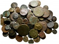 Lot of ca. 100 ancient bronze coins / SOLD AS SEEN, NO RETURN!fine