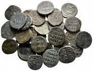 Lot of ca. 31 byzantine bronze coins / SOLD AS SEEN, NO RETURN!very fine
