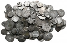 Lot of ca. 100 islamic silver coins / SOLD AS SEEN, NO RETURN!very fine