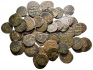 Lot of ca. 60 islamic bronze coins / SOLD AS SEEN, NO RETURN! very fine