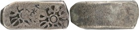 Punch Marked Silver Shatamana Coin of Gandhara Janapada