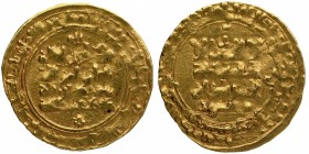 Gold Dinar Coin of Masaud of Ghaznavid Sultanate.