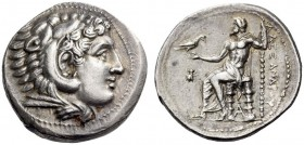 KINGS of MACEDON, Alexander III 'the Great', 336-323 BC. Tetradrachm (Silver, 29mm, 17.24 g 9), Pella, c. 325-315. Head of Herakles to right, wearing ...