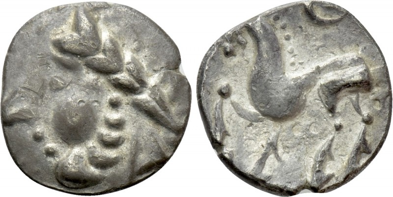 EASTERN EUROPE. Imitations of Philip II of Macedon (2nd-1st centuries BC). Drach...