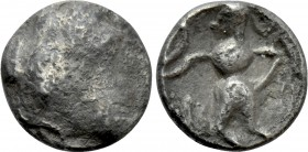EASTERN EUROPE. Imitations of Lysimachos. Obol (3rd-2nd centuries BC).