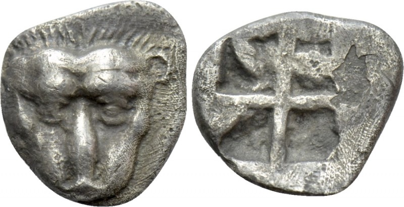 CIMMERIAN BOSPOROS. Pantikapaion. Obol (Circa 480-470 BC). 