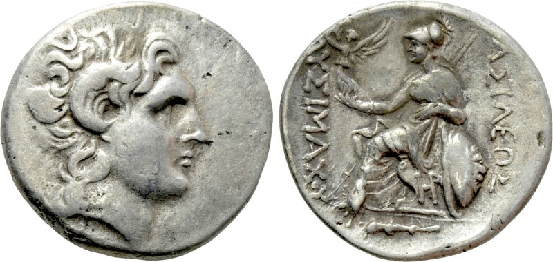 KINGS OF THRACE (Macedonian). Lysimachos (305-281 BC). Tetradrachm. Herakleia Po...