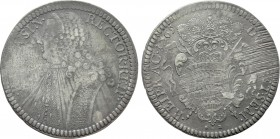 CROATIA. Republic of Ragusa (Dubrovnik). Tallero (1765 GB).
