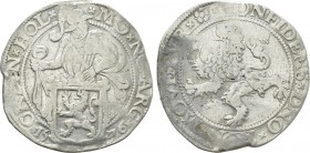 NETHERLANDS. Holland. Lion Dollar or Leeuwendaalder (1576).