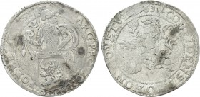NETHERLANDS. West Friesland. Lion Dollar or Leeuwendaalder (1639).