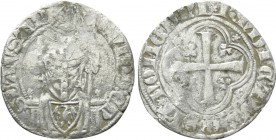 SWITZERLAND. Vaud. Guy de Prangins (1375-1394). Halbgroschen or Demi-Gros.