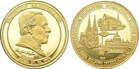 GERMANY. GOLD Medal (1991). Commemorating Adolph Kolping.