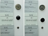 3 Greek coins.