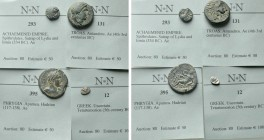 4 Greek and Roman Provincial Coins; Apamea, Antandros etc.