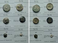 6 Greek Coins.