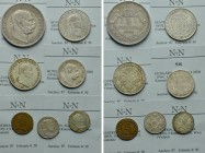 7 Coins of Austria.