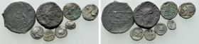 8 Greek, Roman and Medieval Coins.