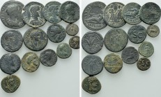 14 Greek and Roman Provinvial Coins.