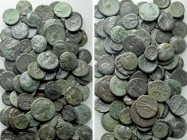 Circa 100 Greek Coins.