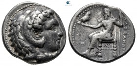 "Kings of Macedon. Babylon. Alexander III ""the Great"" 336-323 BC. struck under Philip III, circa 323-317 BC. Tetradrachm AR"