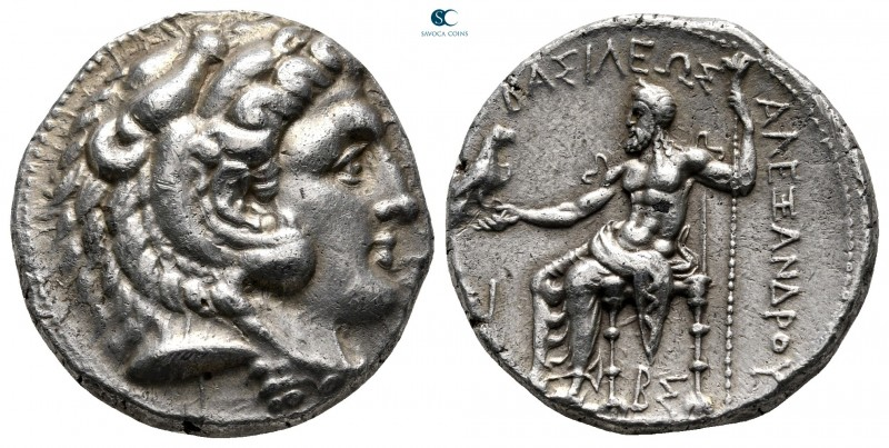 Kings of Macedon. Side. Philip III Arrhidaeus 323-317 BC. In the name and types ...