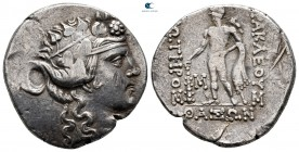 Islands off Thrace. Thasos 150-75 BC. Tetradrachm AR
