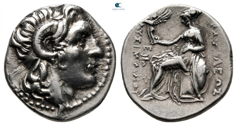 Kings of Thrace. Ephesos. Macedonian. Lysimachos 305-281 BC. Struck circa 294-28...