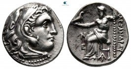 Kings of Thrace. Magnesia on the Maeander. Macedonian. Lysimachos 305-281 BC. Struck circa 305-297 BC. In the name and types of Alexander III. Drachm ...
