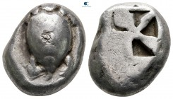Islands off Attica. Aegina 525-480 BC. Stater AR