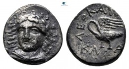 Ionia. Klazomenai . ΛΕΟΚΑΙΟΣ (Leokaios). magistrate 387-300 BC. Hemidrachm AR