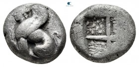 Islands off Ionia. Chios circa 431-412 BC. Drachm AR
