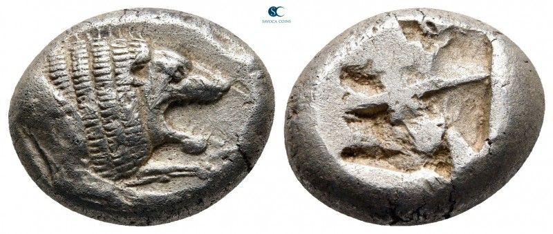 Caria. Mylasa 520-490 BC. 