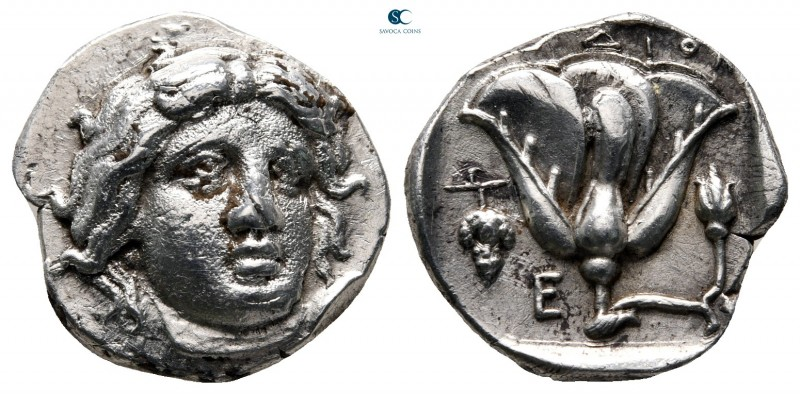 Islands off Caria. Rhodos circa 340-316 BC. 