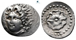 Islands off Caria. Rhodos 88-42 BC. Basileides (ΒΑΣΙΛΕΙΔΗΣ ), magistrate. Drachm AR