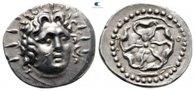 Islands off Caria. Rhodos circa 84-30 BC. Drachm AR